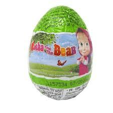 Masha and the Bear Chocolate Surprise Egg