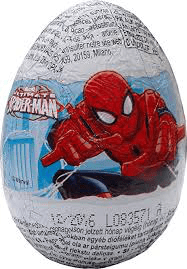 Spiderman Milk Chocolate Surprise Egg