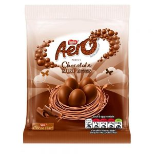 UK Aero chocolate mini eggs 70g