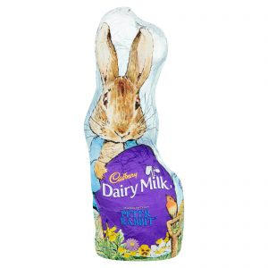 UK Cadbury dairy milk Peter rabbit hollow chocolate 100g