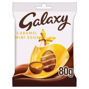 UK Galaxy Caramel Mini Eggs 80g