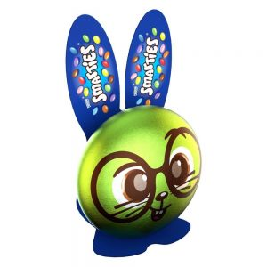 UK Smarties Hollow chocolate milk bunny 50g