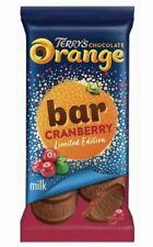 UK Terry's Chocolate Orange Cranberry Bar 90g