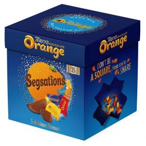 UK Terry's Chocolate Orange Segsations 240g