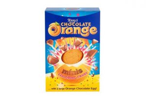 UK Terry's chocolate orange & minis exploding candy 250g