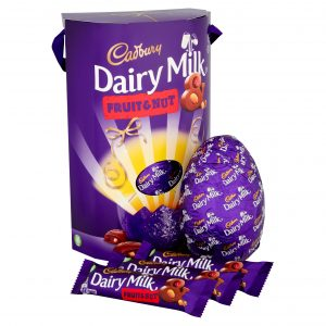 UK cadbury dairy milk fruit and nut 302g
