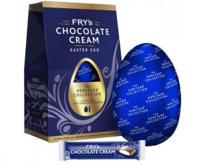 UK fry's Chocolate cream Easter egg 159g