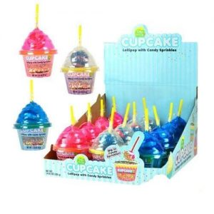 Cupcake Lollipop with Sprinkles