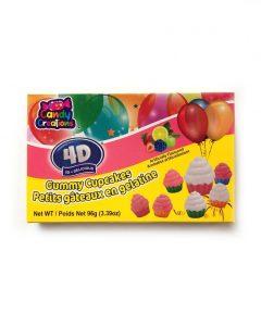 Gummy Cupcakes 4D
