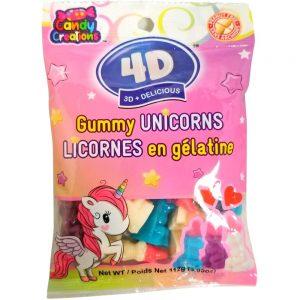 Gummy Unicorns 4D