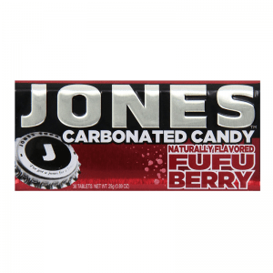 Jones Carbonated Soda Fufu Berry