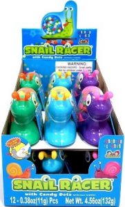 Snail Racer with Candy Dots