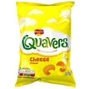 UK Quavers Cheese