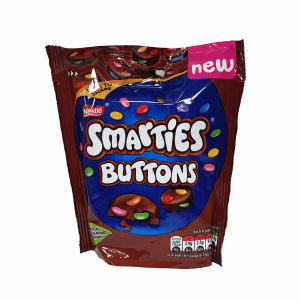 UK Smarties Buttons Milk Chocolate