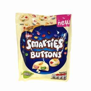 UK Smarties White Chocolate Buttons