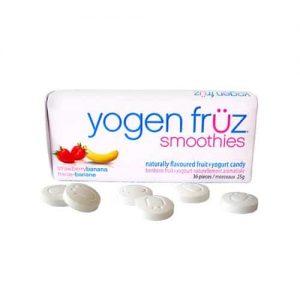 Yogen Fruz Strawberry Banana