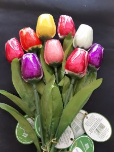 Chocolate Tulip 3-Stems